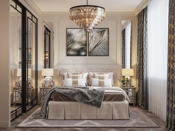 How to Choose the Beautiful Brilliance of a Bedroom Chandeli