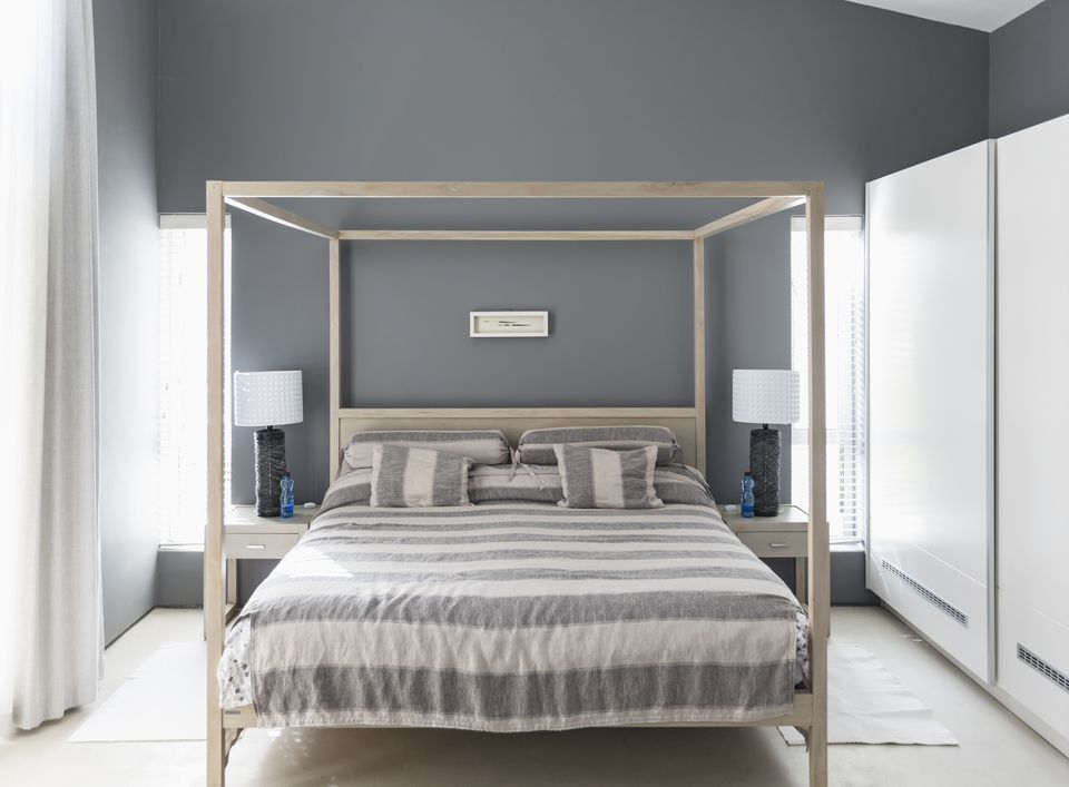 Gray Bedroom Color Pairing Ide
