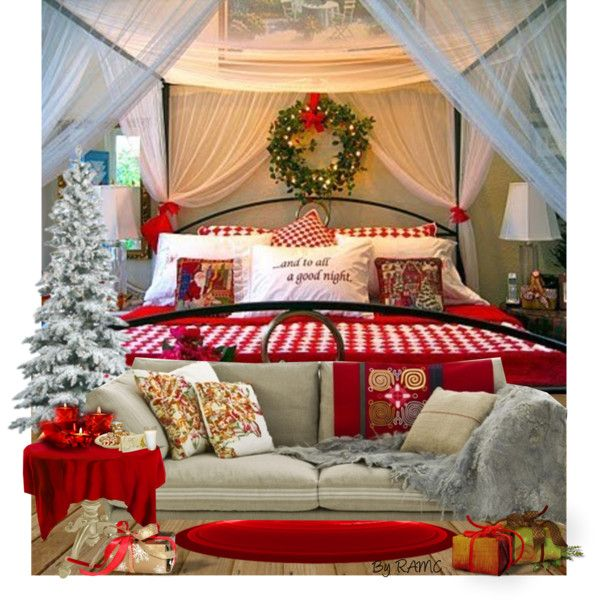 Christmas Bedroom Decor | Christmas bedroom, Christmas room, Cozy .