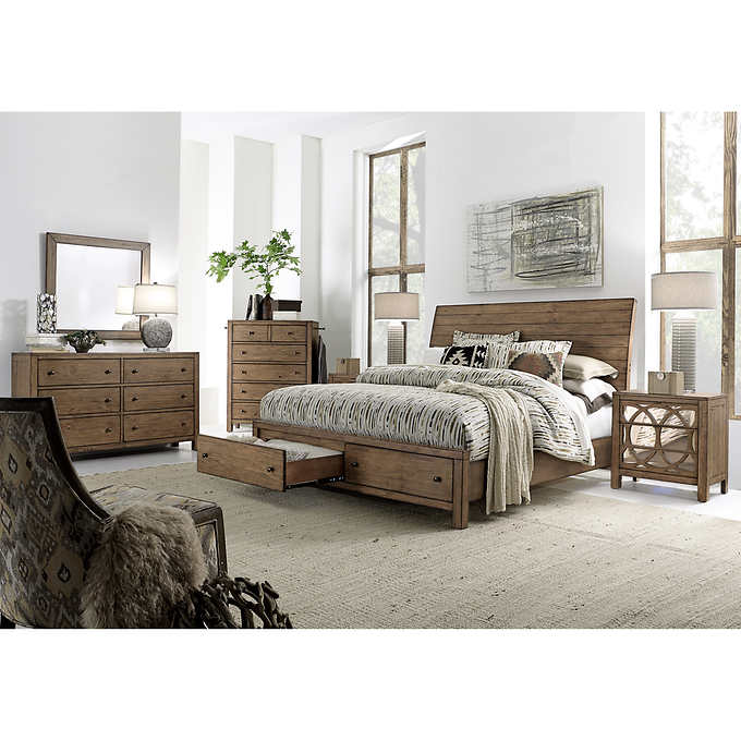 Audrey 6-piece Queen Storage Bedroom S