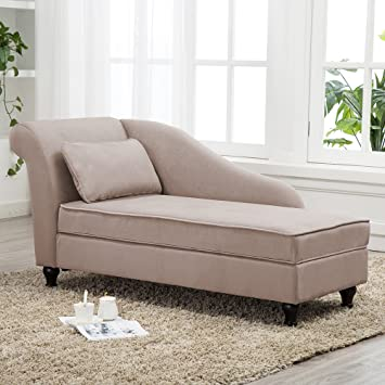 Amazon.com: Modern Chaise Lounge Open Fold Spa Sofa Long Lounger .