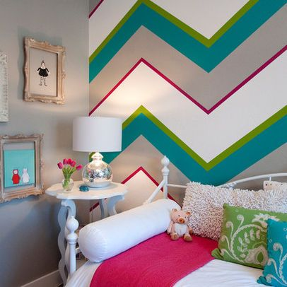 21 Creative Accent Wall Ideas for Trendy Kids' Bedrooms | Striped .