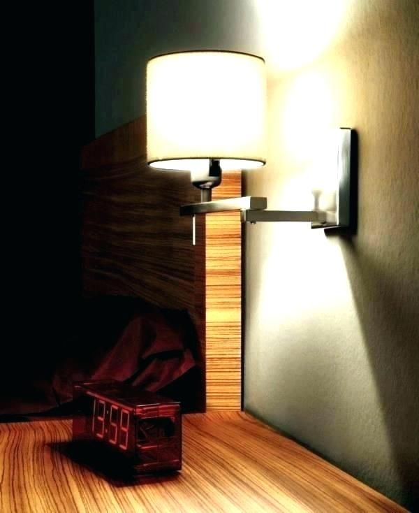 Wall Mounted Bed Lamps | Wall light shades, Wall lamp shades, Wall .