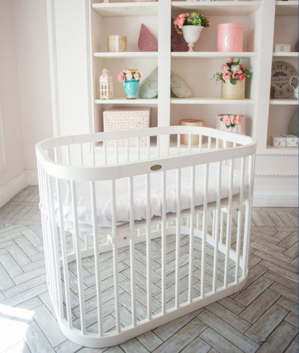 Baby bed / bedside crib SmartTrip 3in1 - Whi