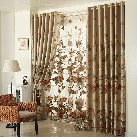 Top 9 Curtain Designs for Drawing Room | Curtain designs, Home .