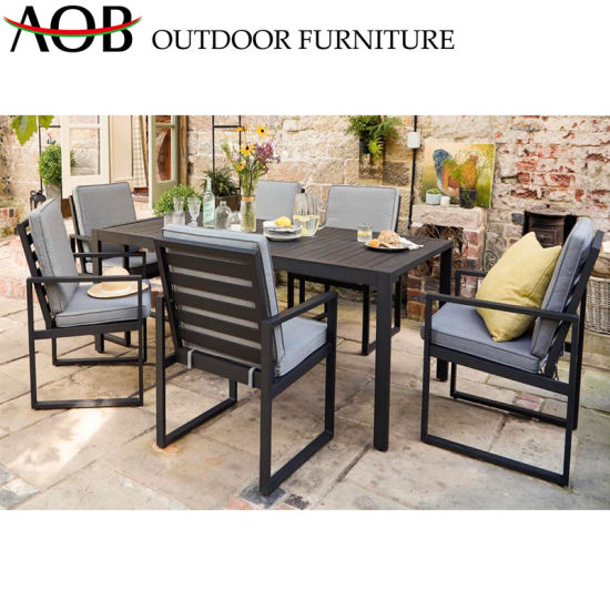 China Aluminum Garden Tables Patio Dining Sets Best Outdoor Hotel .