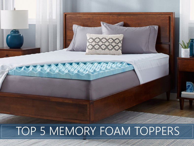 Our 5 Highest Rated Memory Foam Mattress Topper Reviews For 20