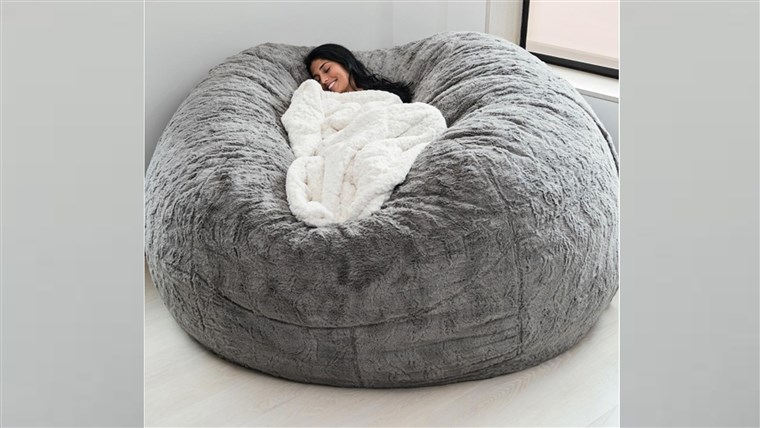 The LoveSac pillow and other comfy chairs to try this wint