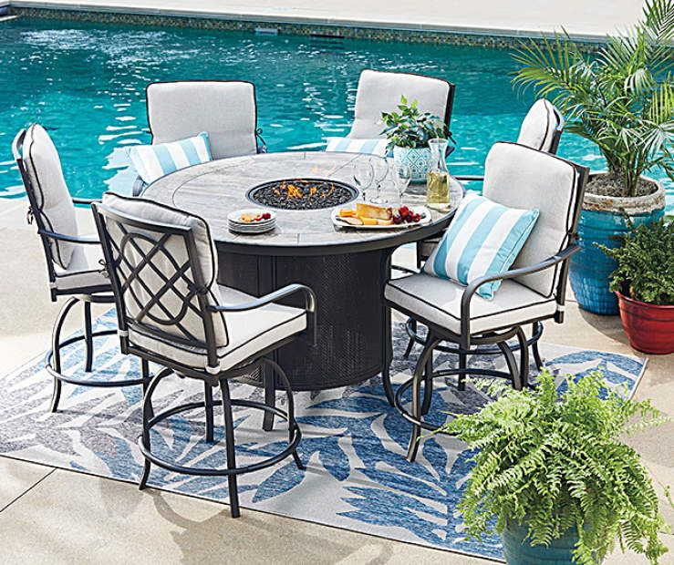 Wilson & Fisher Grandview 7-Piece Patio Dining Set at Big Lots .