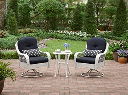Amazon.com : 3-Piece Outdoor Bistro Set is Perfect For Small .