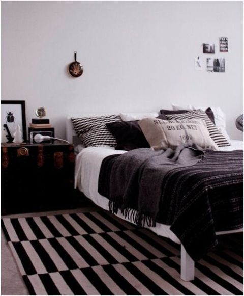 26 Ways To Use IKEA Stockholm Rug For Home Dec