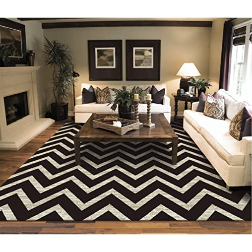 Black and White Rugs for Living Room: Amazon.c