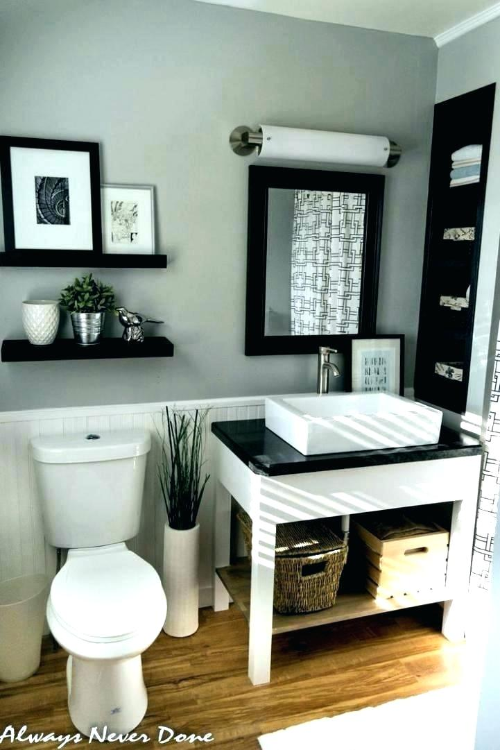 Black And White Bathroom Accessories Sets Striped Decorations .