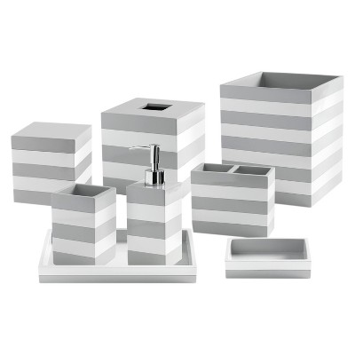 Lacquer Stripe Tissue Holder - Cassadecor : Targ