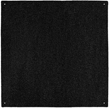 Amazon.com: House, Home and More Outdoor Turf Rug - Black - 10 .