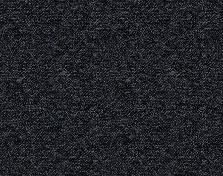 Black Carpet Texture Background. Dark Rug With Shallow Pile For .