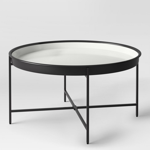 Pradet Tray Coffee Table Black/White - Project 62™ : Targ