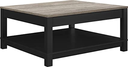 Amazon.com: Ameriwood Home Carver Coffee Table, Black: Kitchen .