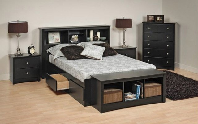 29 Super Unique Bedrooms With Black Furniture - The Sleep Jud
