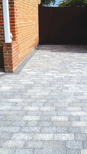 Birch Granite Block Paving | Landscaping | Patio | Driveway .