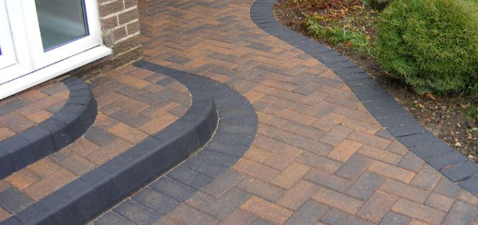 block paving step designs - Google Search | Block paving driveway .