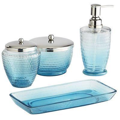 turquoise bathroom accessories | Turquoise Bath | Decor by Color .