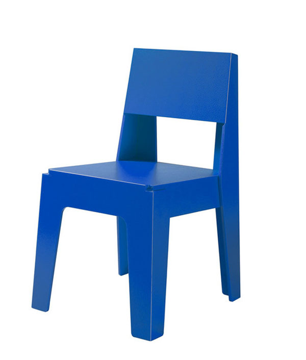 Blue Butter Chair by DesignbyThem - Chairblog.