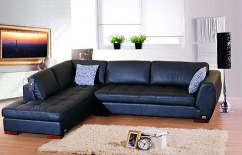Best Blue Leather Sectional Sofa Royal Blue Sectional Sofa Home .