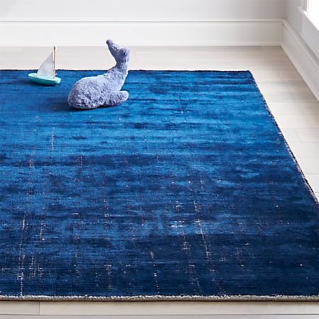 Blue Patina Kids Area Rug | Crate and Barr