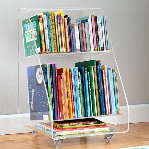 Book Storage For Kids For Small Spaces | POPSUGAR Fami