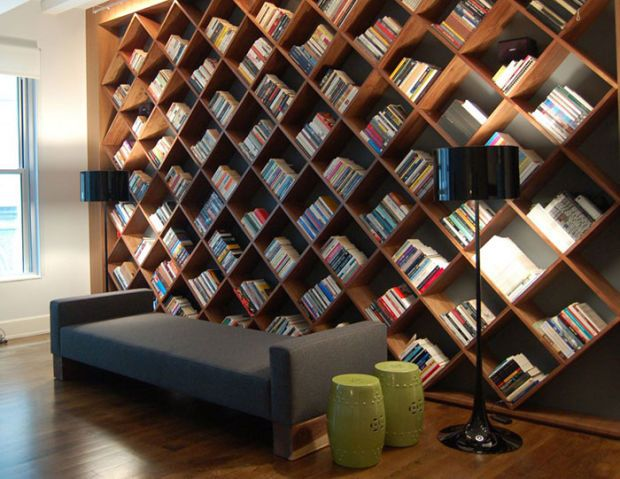 The 22 Most Creative Bookshelf Designs Ever | Home library design .