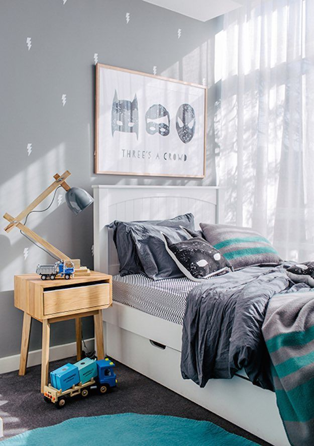 20 Awesome Boys Bedroom Ideas (with Simple Tips to Make Them .