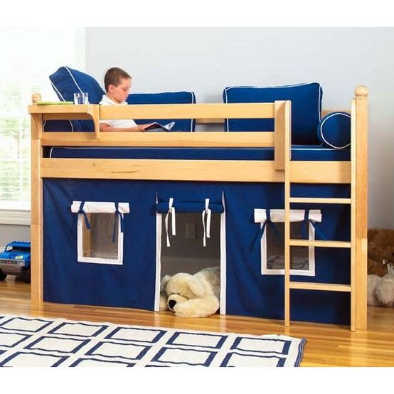 Son's bedroom! Little man cave :) | Boys loft beds, Kids loft, Low .