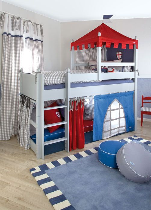 Boys Castle Bed | ... Boys Bed/ Knight's Castle Cabin Bed .