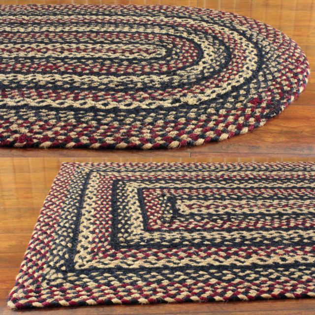 Blackberry Jute Braided Rugs by IHF Rugs for sale onli