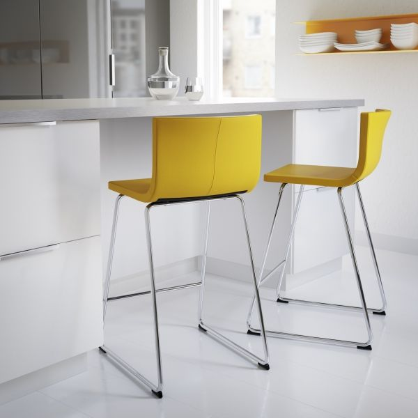 US - Furniture and Home Furnishings | Yellow kitchen decor .