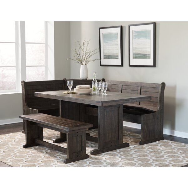 Gracie Oaks Murilda Breakfast Nook Dining Set & Reviews | Wayfa
