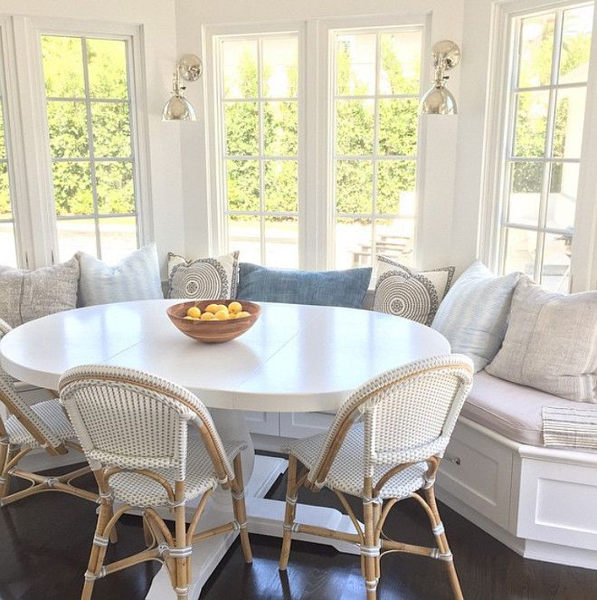 Friday's Favourites | Dining nook, Window seat kitch