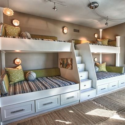 50+ Modern Bunk Bed Ideas for Small Bedrooms | Bunk beds built in .