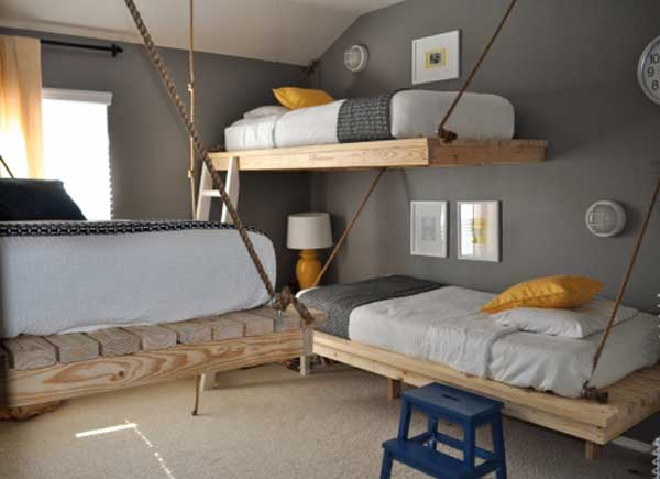 30 Fresh Space-Saving Bunk Beds Ideas For Your Home | Freshome.c
