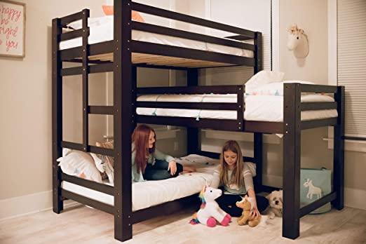 Amazon.com: Sydney L-Shaped Triple Bunk Bed: Kitchen & Dini
