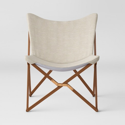 Wood Butterfly Chair Natural - Room Essentials™ : Targ