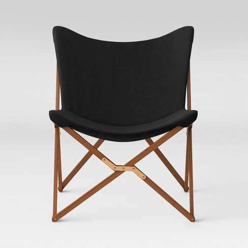 Wood Butterfly Chair Black - Room Essentials™ : Targ