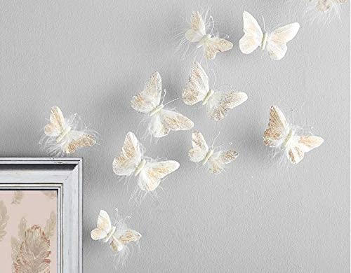 Amazon.com: Inspired by Jewel Butterfly Wall Decorations Premium .