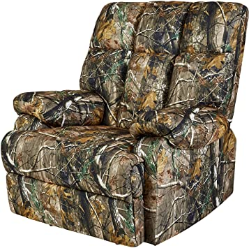 Amazon.com: JC Home Liano Rocker Recliner with Camouflage-Print .