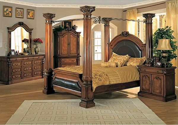 King Size Canopy Bed Sets | King sized bedroom, Canopy bedro