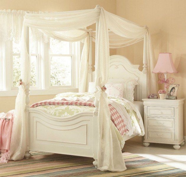 19 Fabulous Canopy Bed Designs For Your Little Princess | Canopy .