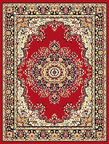 Buy Carpet Galore Traditional Medallion Design Thick Pile Soft .