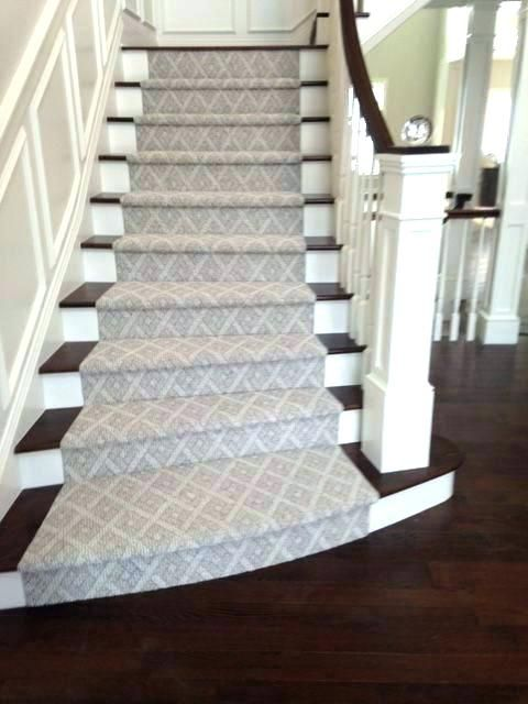 Stair runners by the foot | Carpet stairs, Staircase runner .
