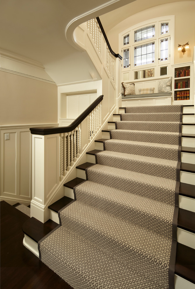 White Carpet Runners For Stairs — Home Design By John from .